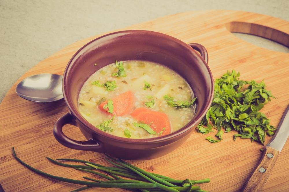 Grießsuppe wie bei Oma