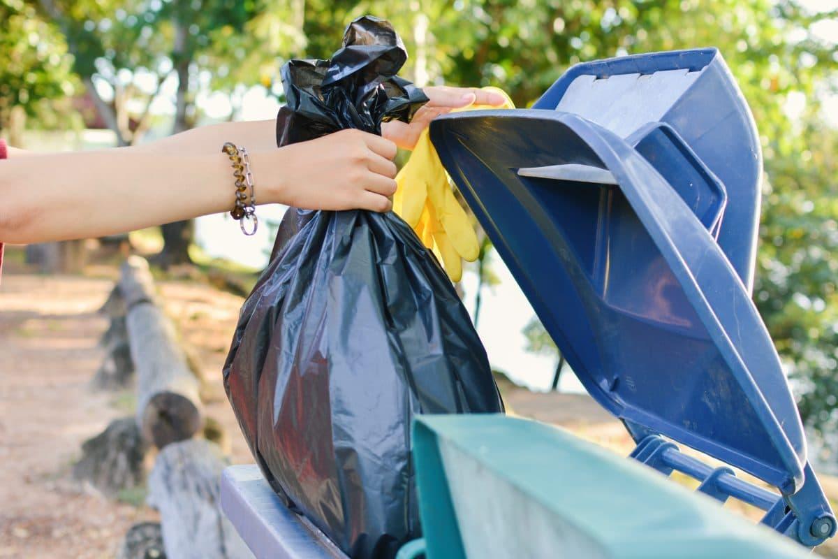 Britin bringt ihren Müll jede Woche in neuem Kostüm raus und sorgt für Begeisterung