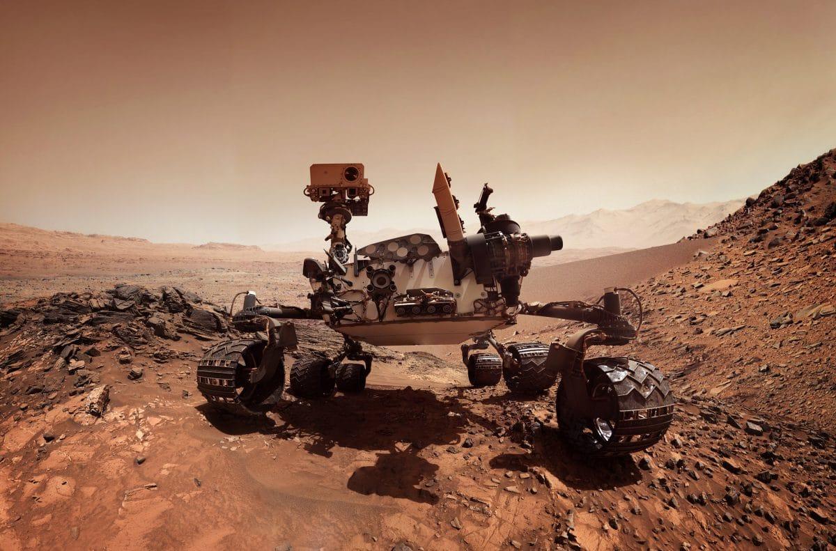 Mars-Rover schickt Video- und Audio-Aufnahmen zur Erde