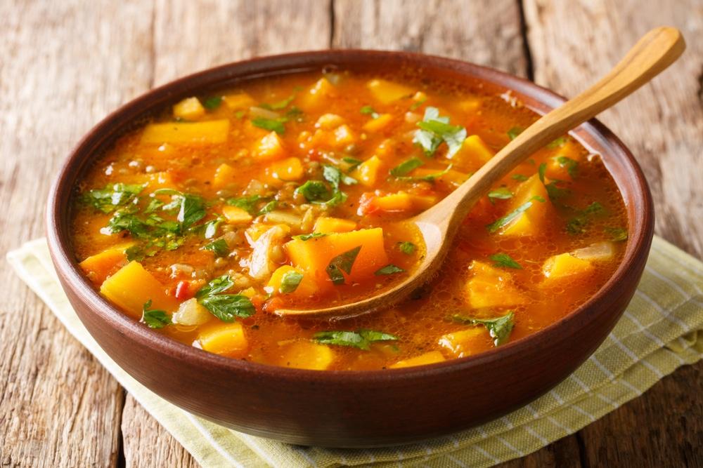 Süßkartoffel-Curry Rezept
