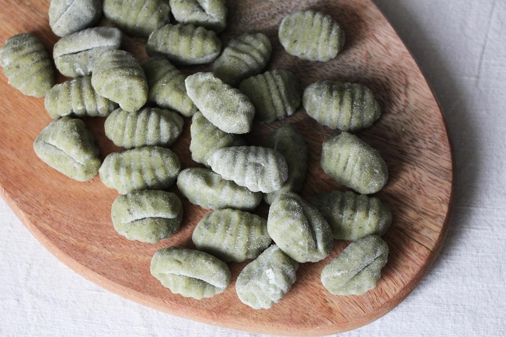 Spinat Gnocchi Rezept