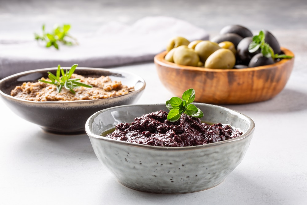 Oliven-Fisch-Paste