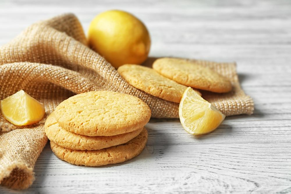 Lemon Curd Cookies mit Frischkäse