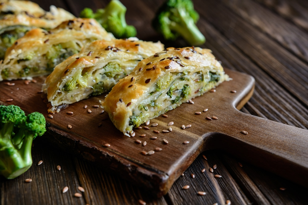 Brokkoli-Strudel Rezept