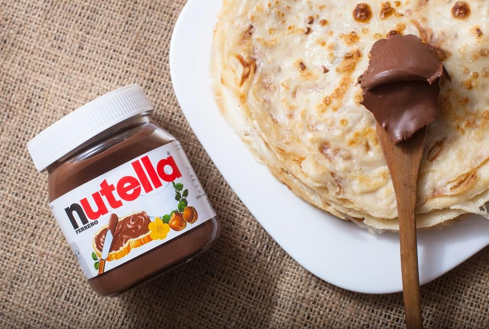 Süßer Bananen-Nutella-Auflauf Rezept