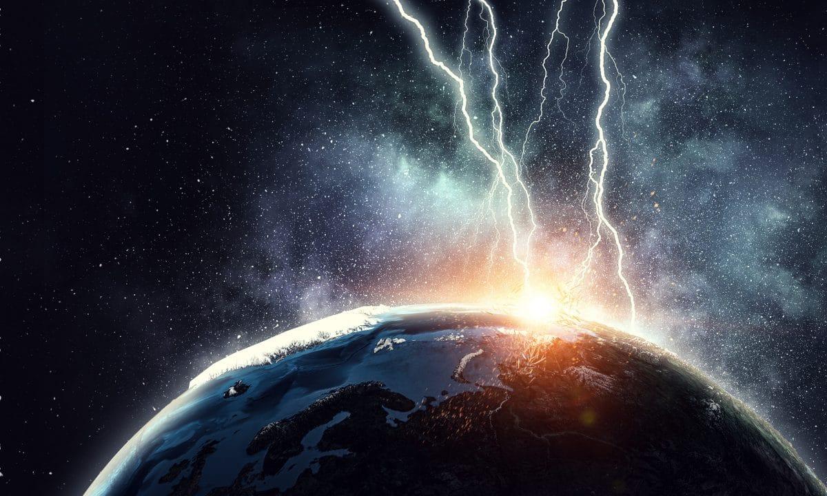 Ein Blitz soll Leben auf der Erde ausgelöst haben