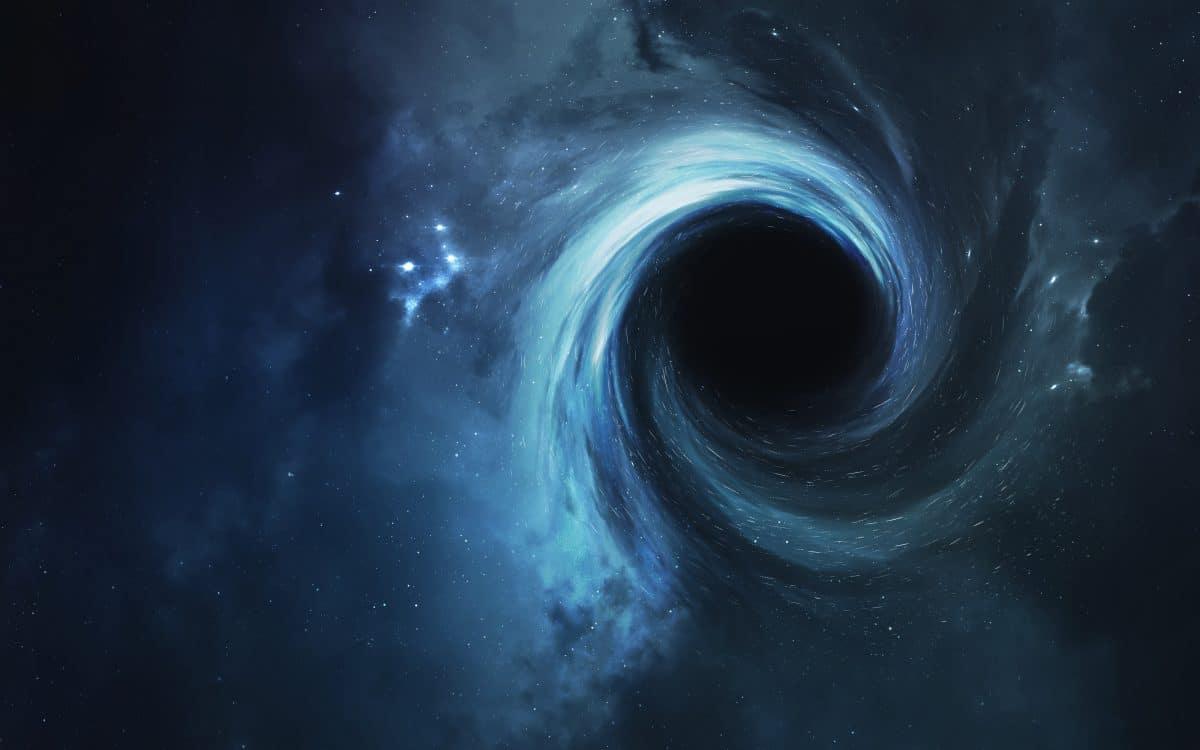 Supermassives Schwarzes Loch wandert durchs Weltall
