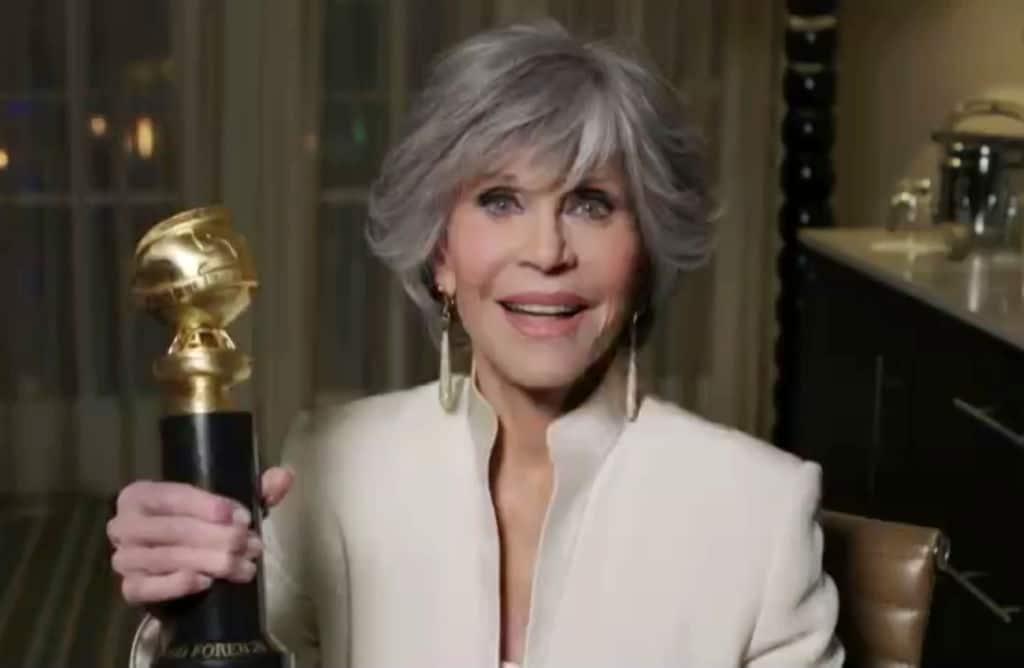 Das waren die Golden Globes: Jane Fonda kritisiert Hollywood