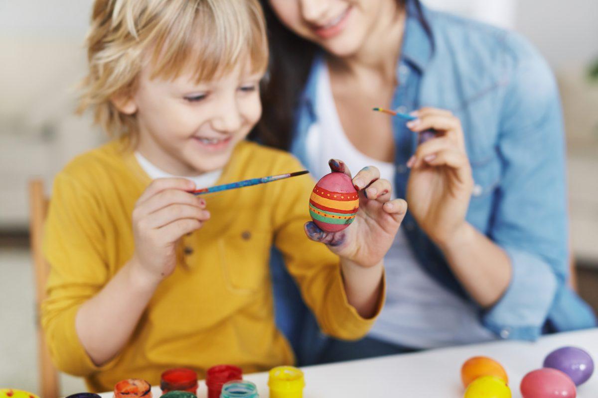 5 Ideen fürs Osterbasteln mit den Kindern