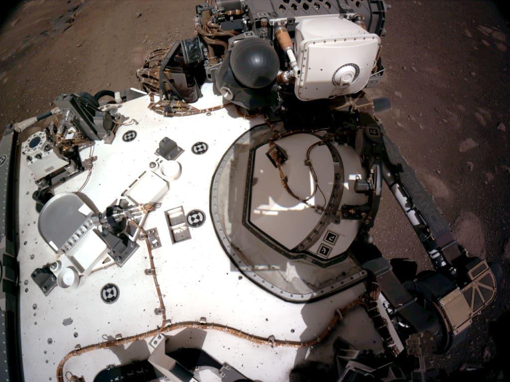 So klingt der rote Planet: Mars Rover schickt erstmals Audio von Mars-Fahrt