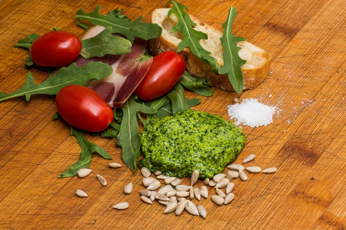 Rucola-Pesto Rezept