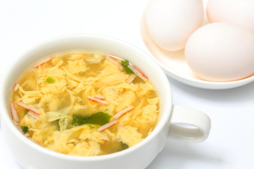 Einmachsuppe mit Ei