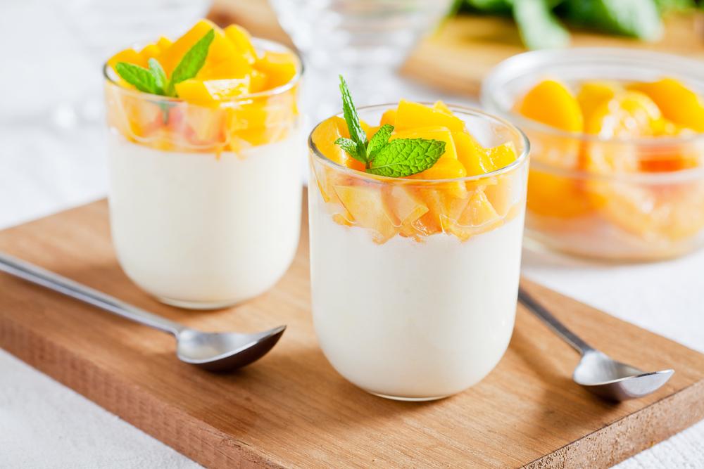 Sanddorn-Joghurt-Dessert