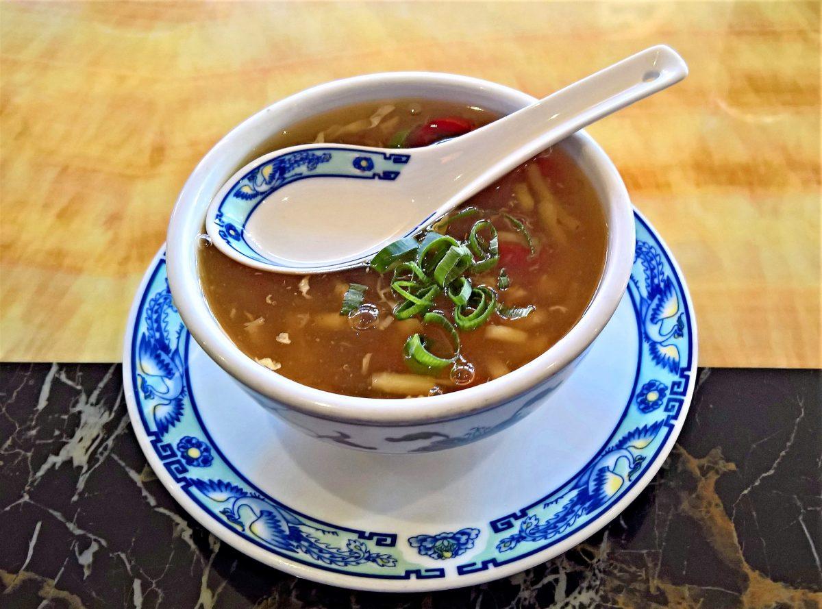 Chinesische Wonton-Suppe