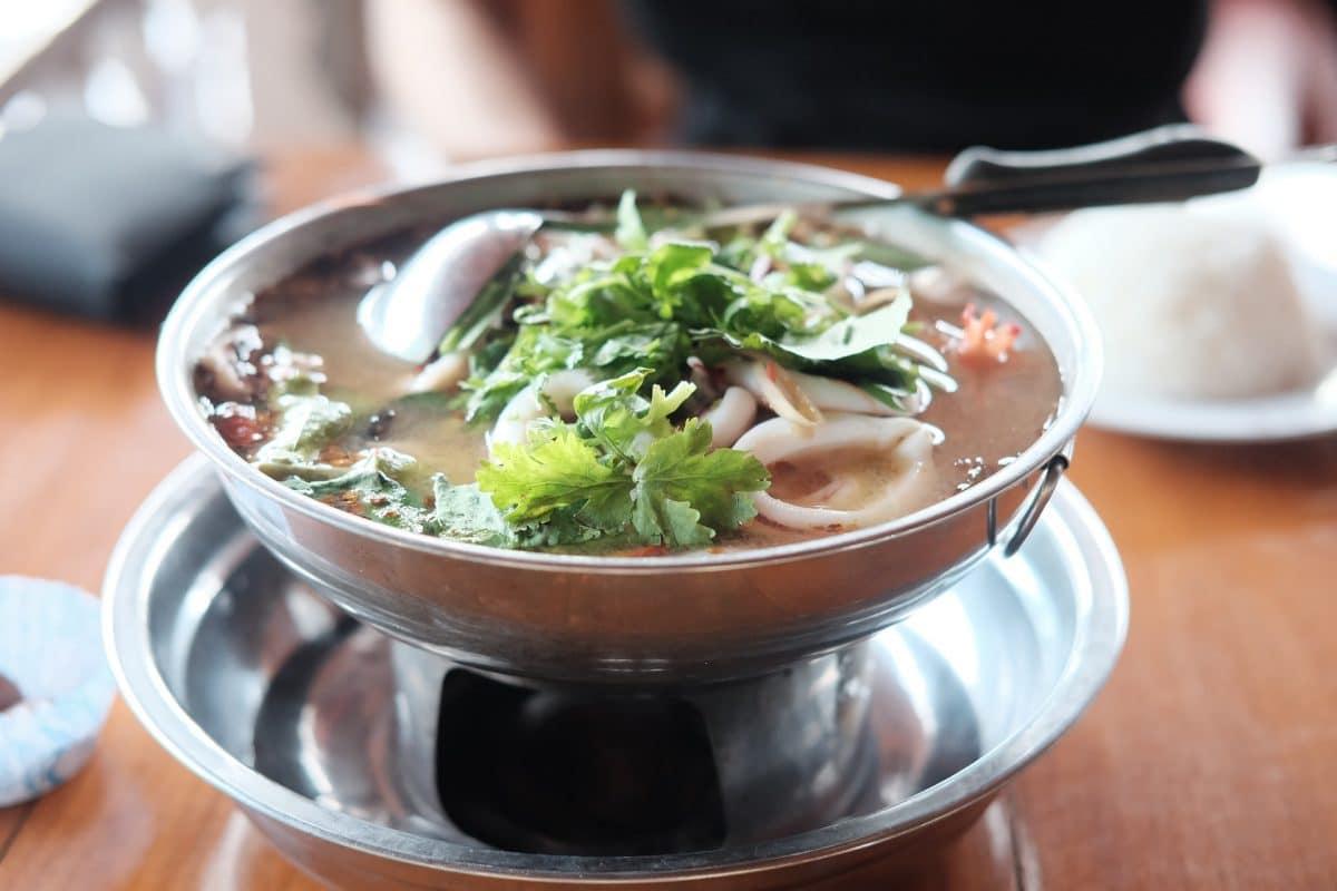 Kokos-Garnelen Suppe
