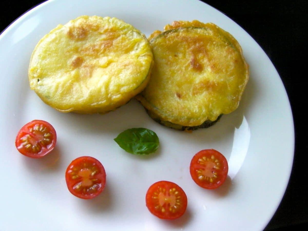 Gemüse-Tempura im Paprika-Backteig