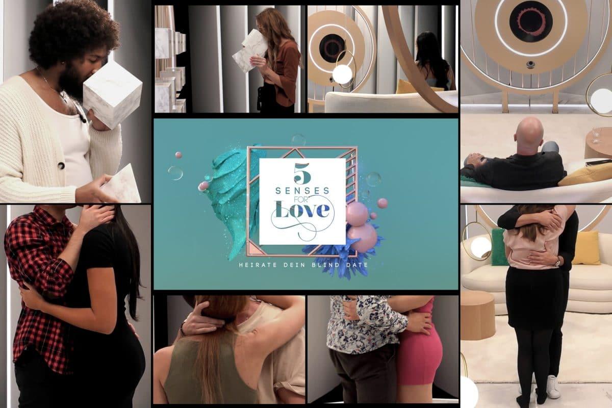 """""""5 Senses for Love"""": Deutsche Version von """"Love is Blind"""" kommt bald auf Sat.1"""