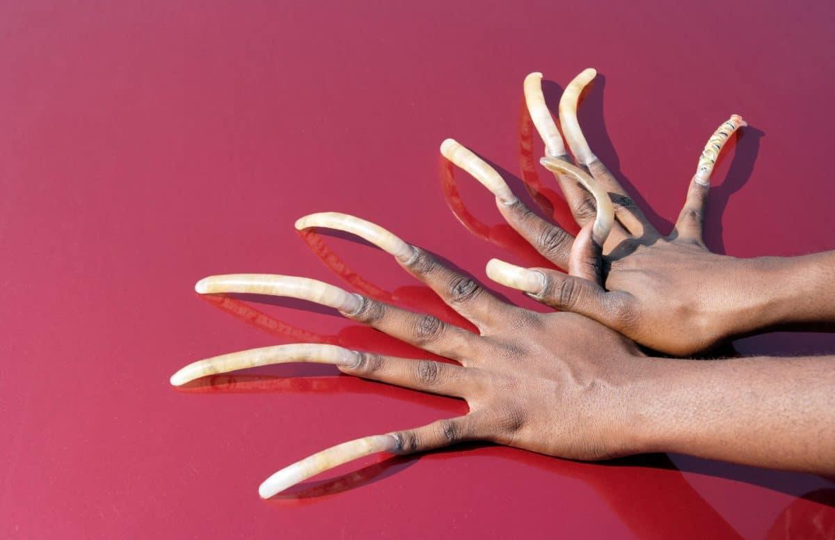 Weltrekord: Frau ließ ihre 7 Meter langen Nägel abschneiden