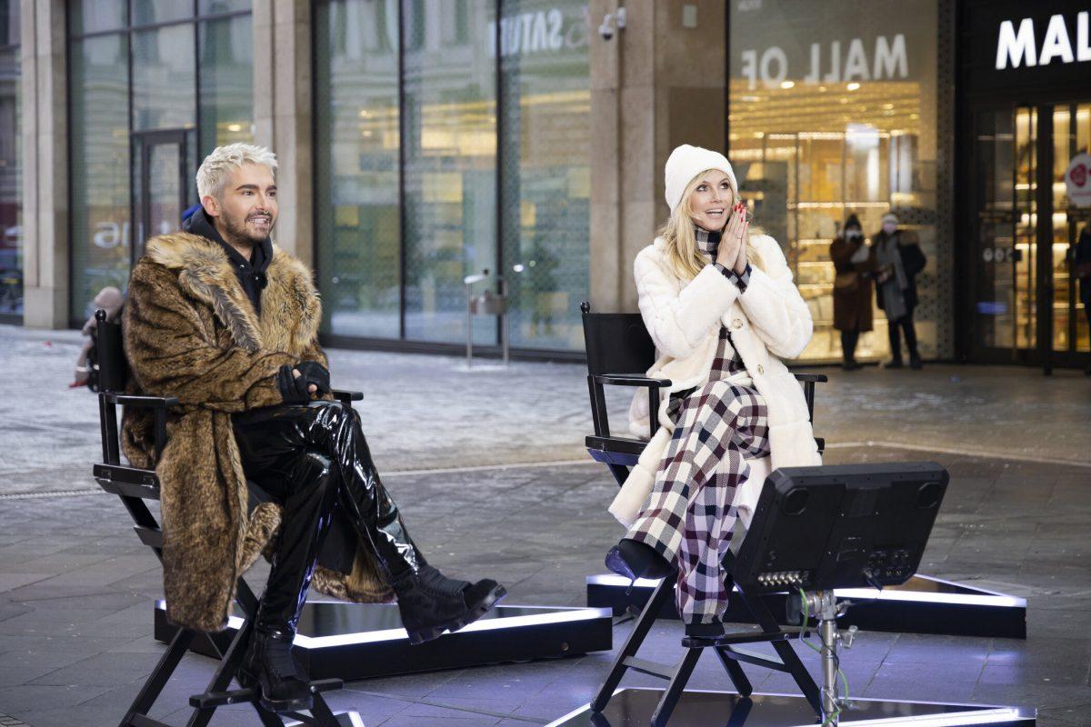 GNTM: Mantel von Gastjuror Bill Kaulitz sorgt für Shitstorm