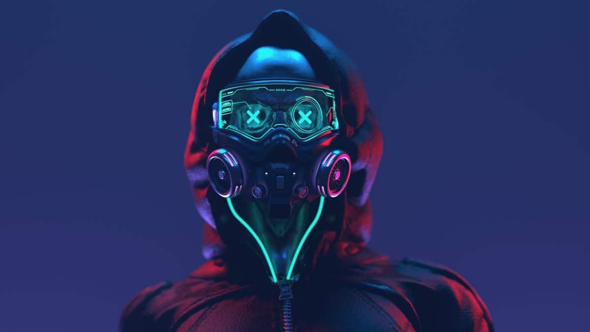 Sänger will.i.am bewirbt Hightech FFP2-Maske mit Bluetooth-Kopfhörern