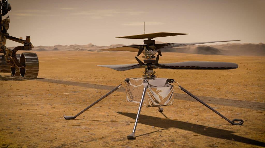 Ingenuity: Erster Hubschrauber-Flug auf dem Mars war erfolgreich
