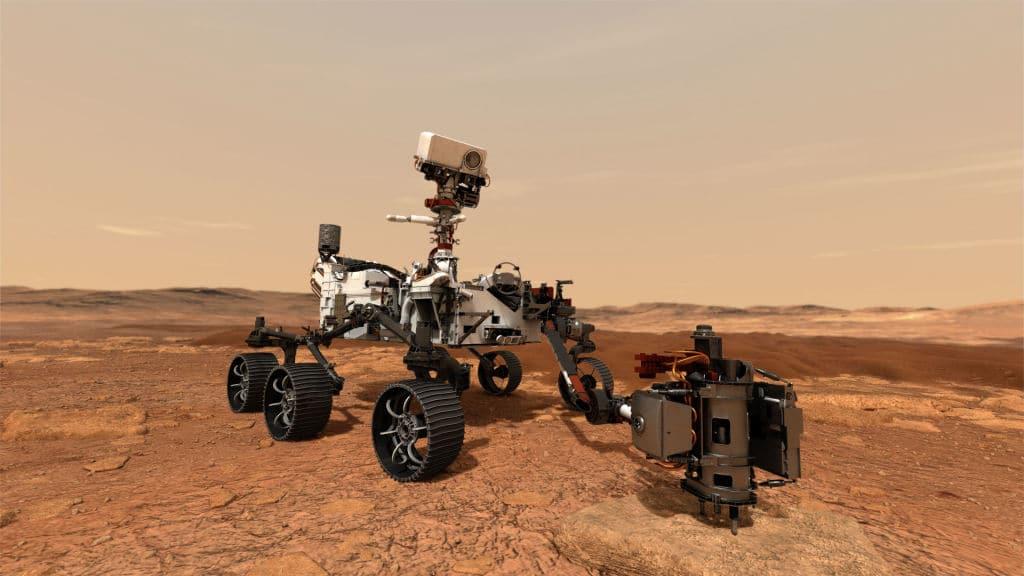 Mars-Rover extrahiert erstmals Sauerstoff auf dem roten Planeten