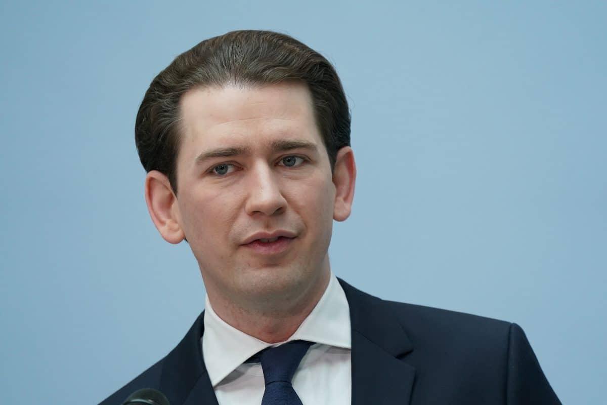 """Sebastian Kurz: Öffnungen im Mai unter """"strengen Auflagen"""""""
