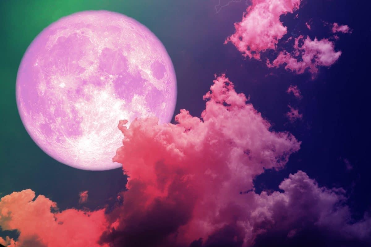 Pinker Supermond im April: Auf diese Sternzeichen wirkt sich der Vollmond positiv aus