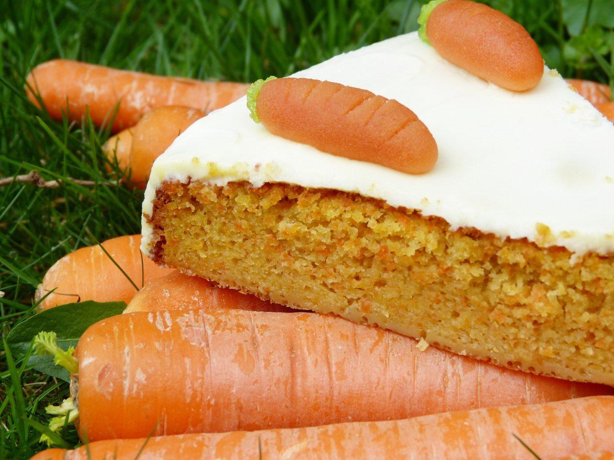 Amerikanischer Karottenkuchen