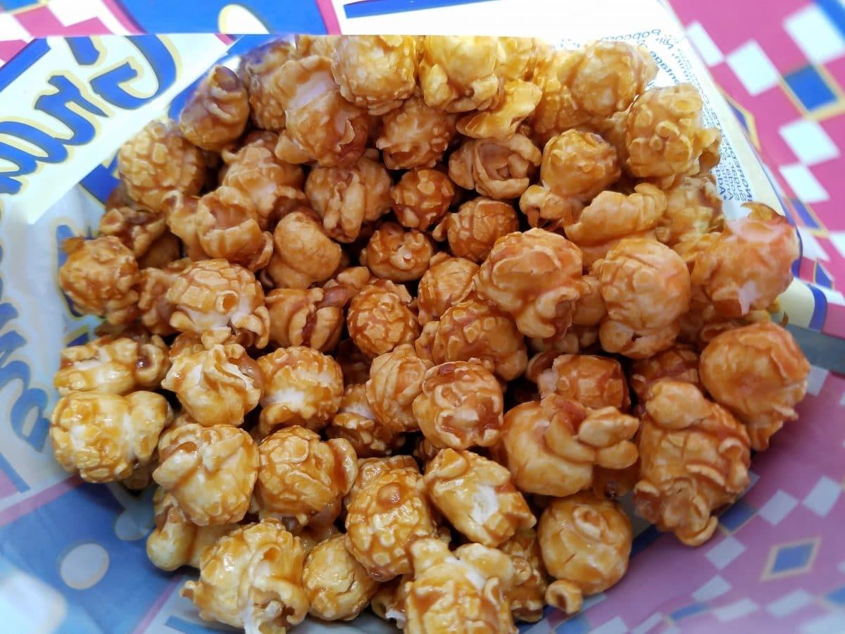 Selbstgemachtes Karamell-Popcorn aus der Mikrowelle