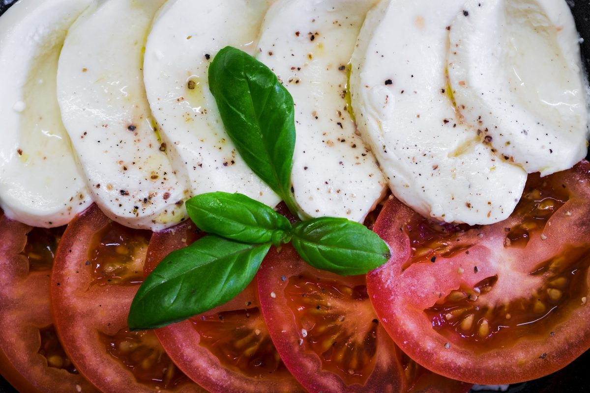 Mozzarella auf Steirisch