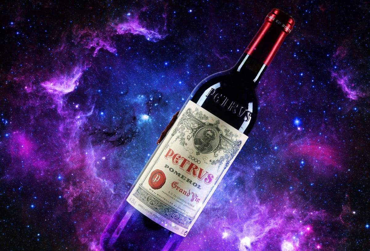 Ein im Weltall gereifter Rotwein steht jetzt für 1 Million US-Dollar zum Verkauf