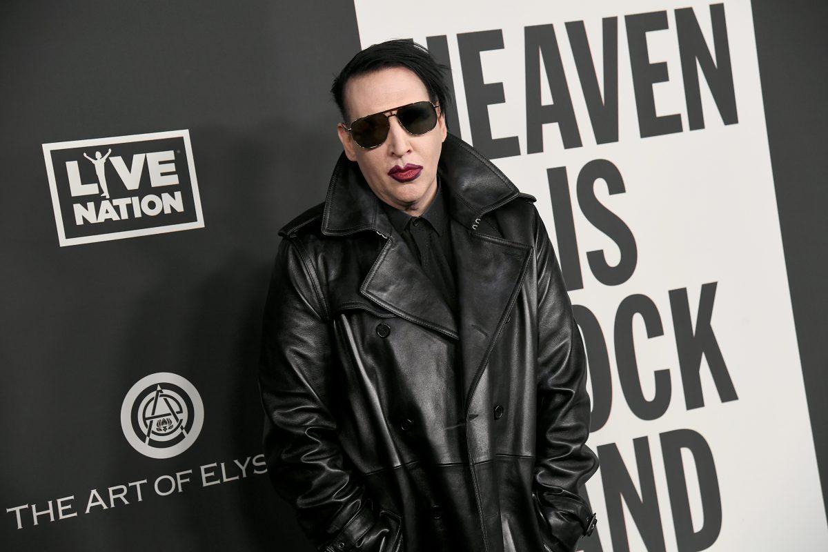 Haftbefehl gegen Marilyn Manson nach angeblicher Spuck-Attacke