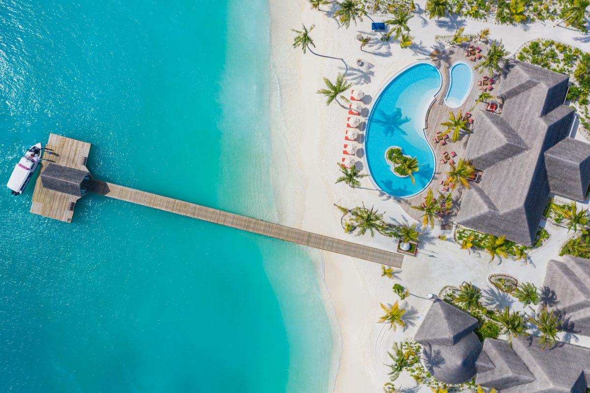 So kannst du jetzt eine eigene Insel auf den Malediven ersteigern