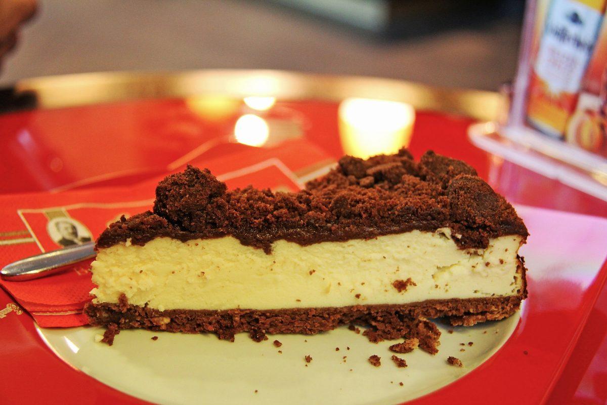 Peanutbutter-Chocolate Cheesecake