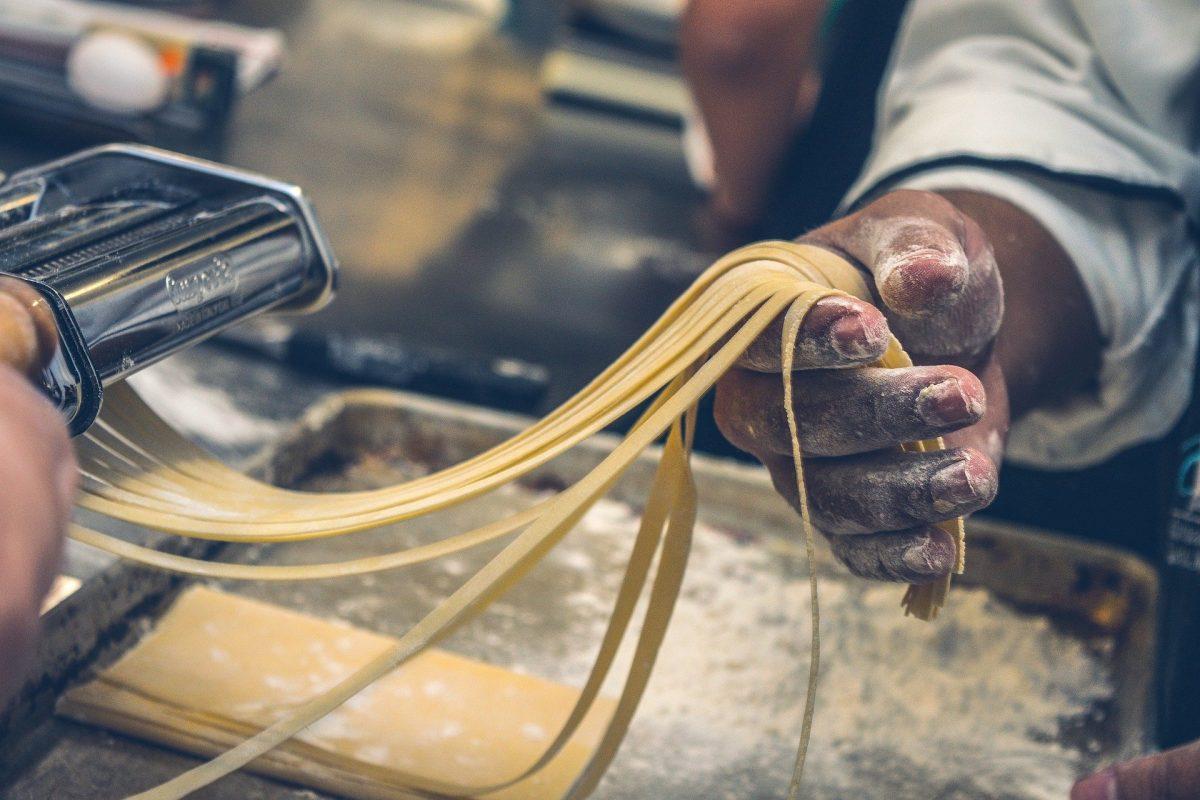 Spaghetti selbst gemacht