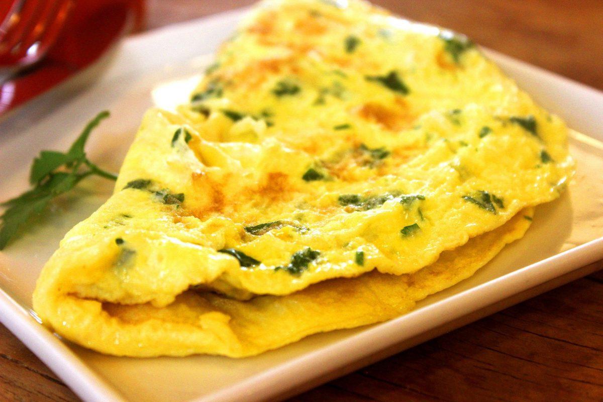 Mexikanische Frühstücks-Omelette