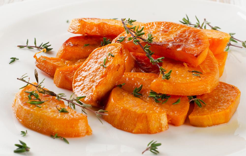 Süßkartoffel-Wedges Rezept
