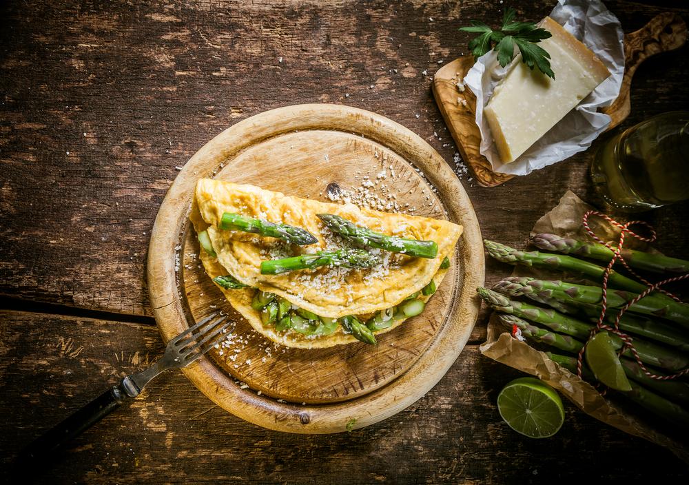 Tiroler Spargel-Omelette