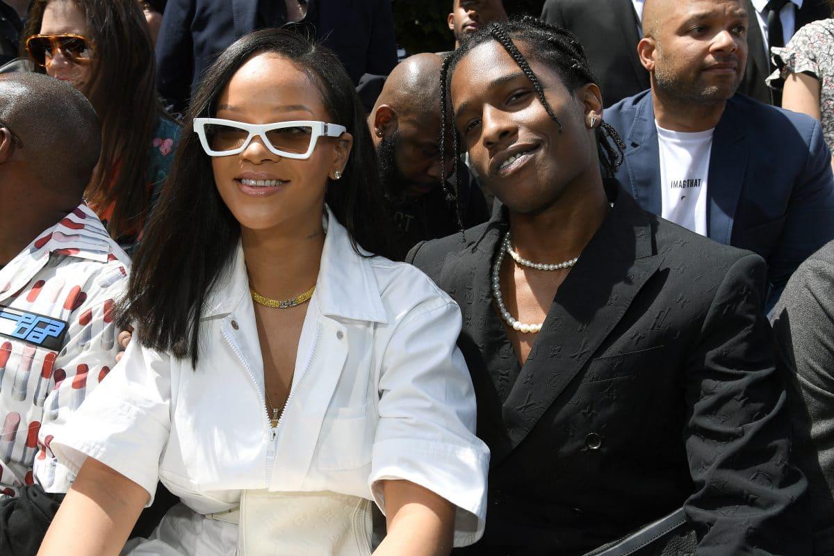 Rihanna und A$AP Rocky küssend bei Date gesichtet
