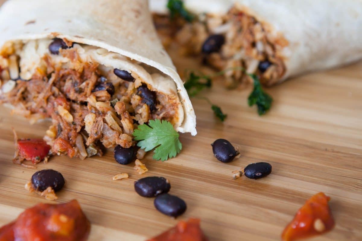 Crispy Chicken Wrap Mexicana