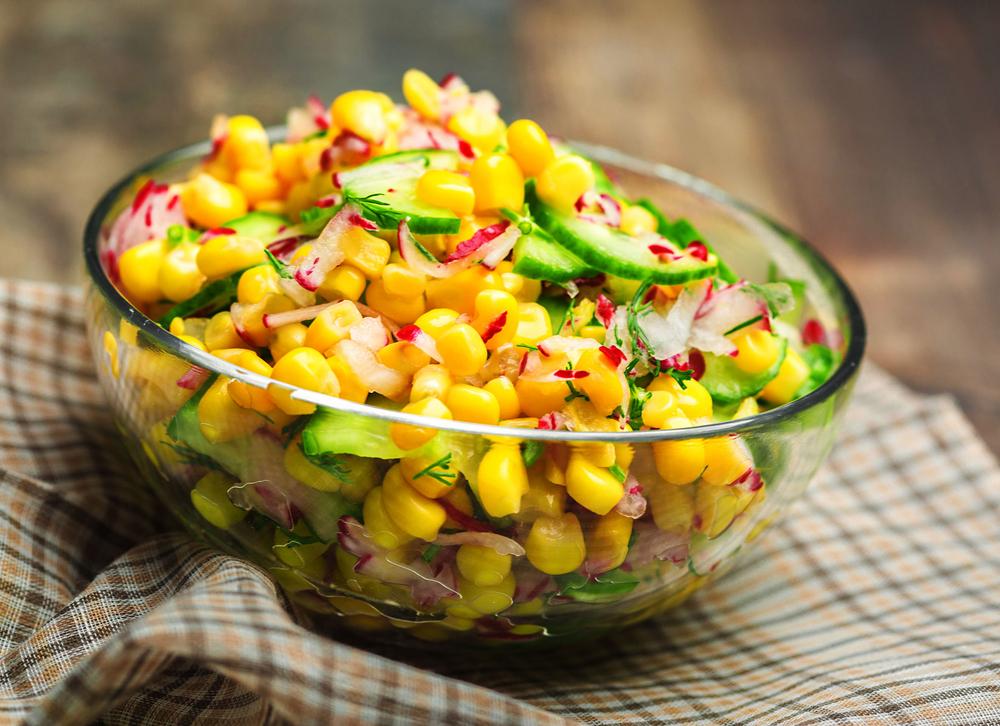 Mais-Gurken-Salat Rezept