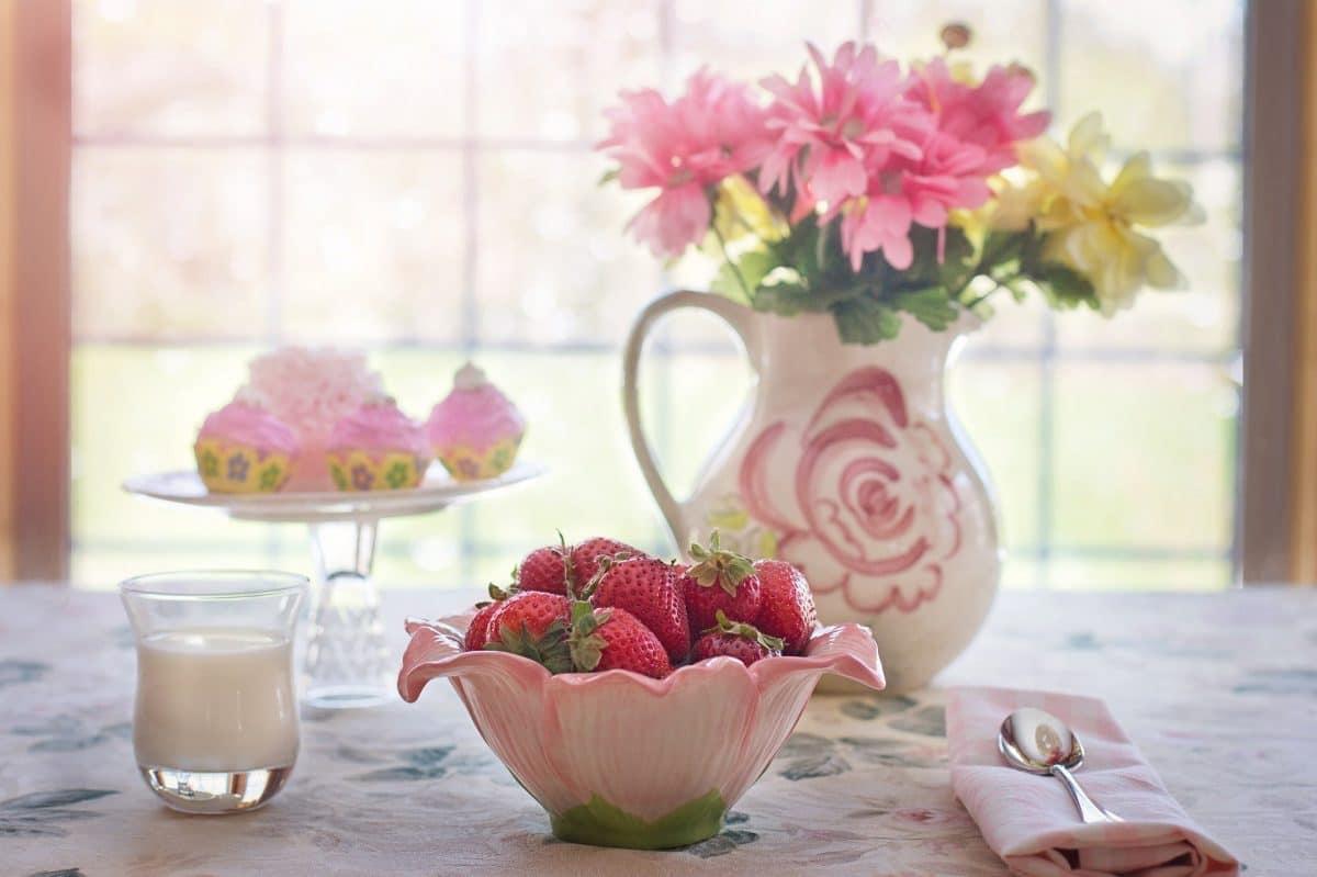 Erdbeeren-Romanow Rezept