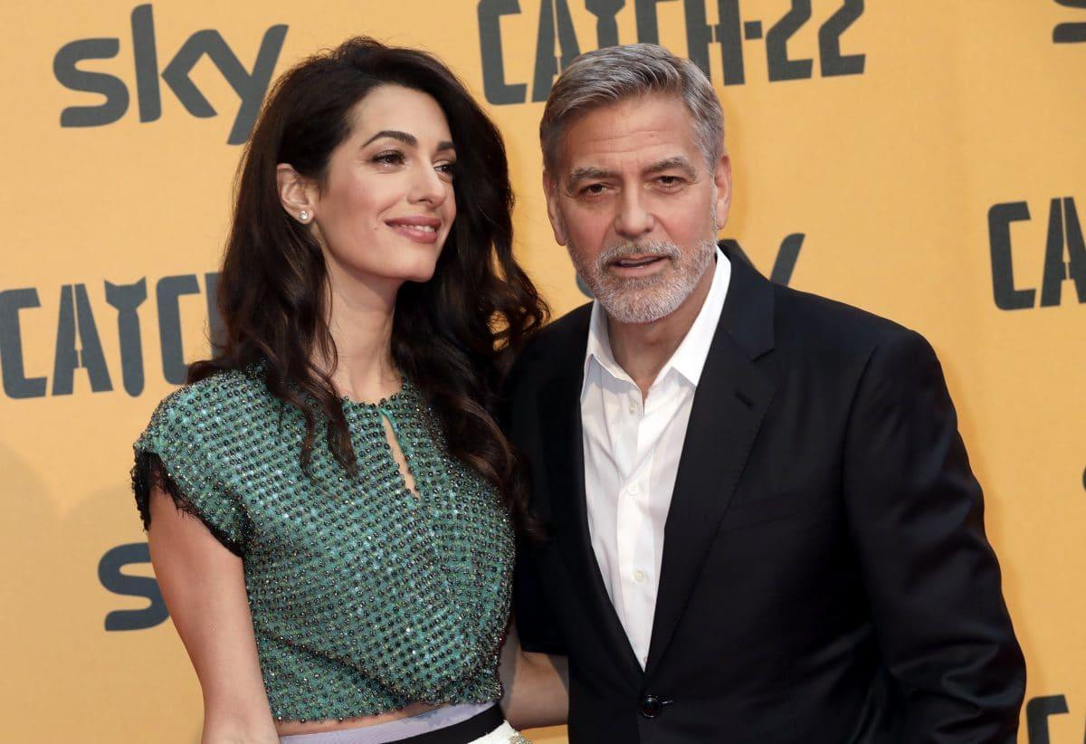George Clooney und Amal dementieren Schwangerschaftsgerüchte