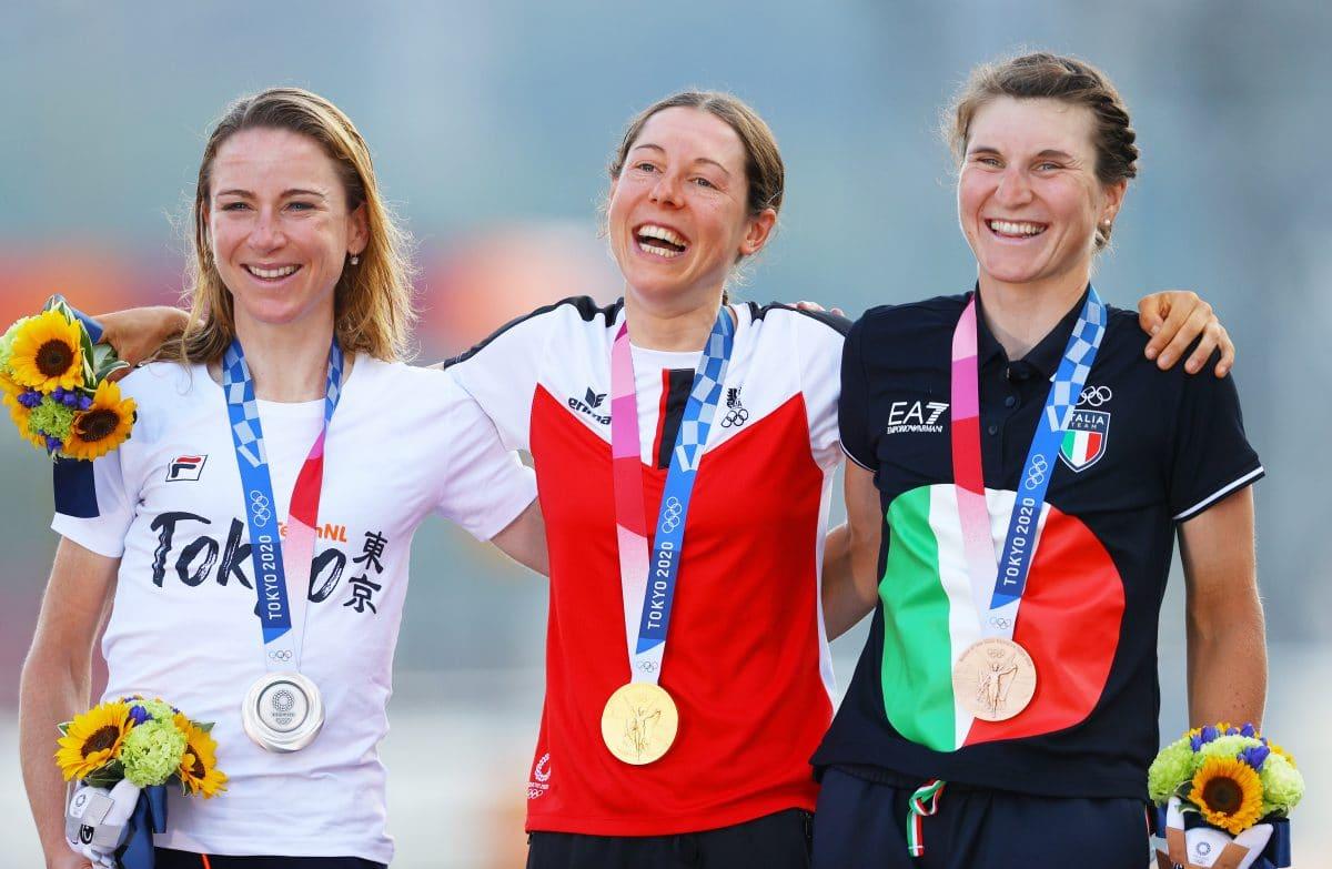 Anna Kiesenhofer holt im Radstraßenrennen olympisches Gold für Österreich