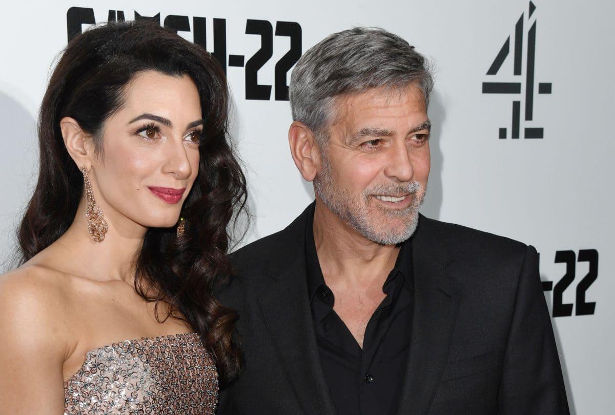 George Clooney und Amal erwarten angeblich wieder Zwillinge