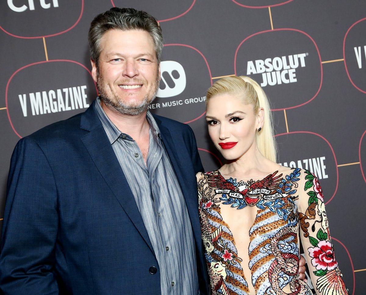 Gwen Stefani und Blake Shelton haben geheiratet