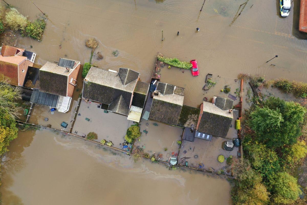 Hochwasser in Österreich: Altstadt von Hallein überflutet