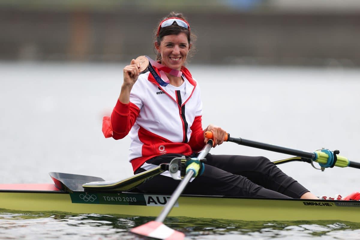 Ruderin Magdalena Lobnig holt vierte Olympia-Medaille für Österreich