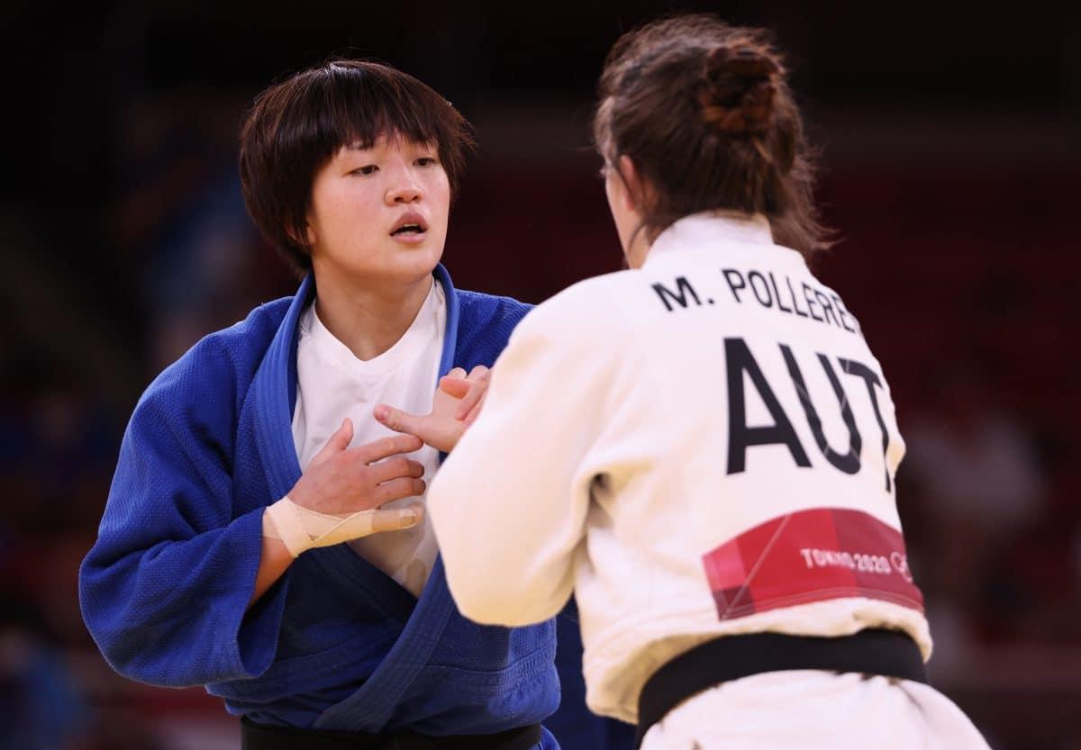 Michaela Polleres holt Olympia-Silber im Judo für Österreich